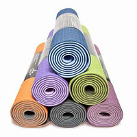 Коврики для йоги (80х183х0.6 см) TPE