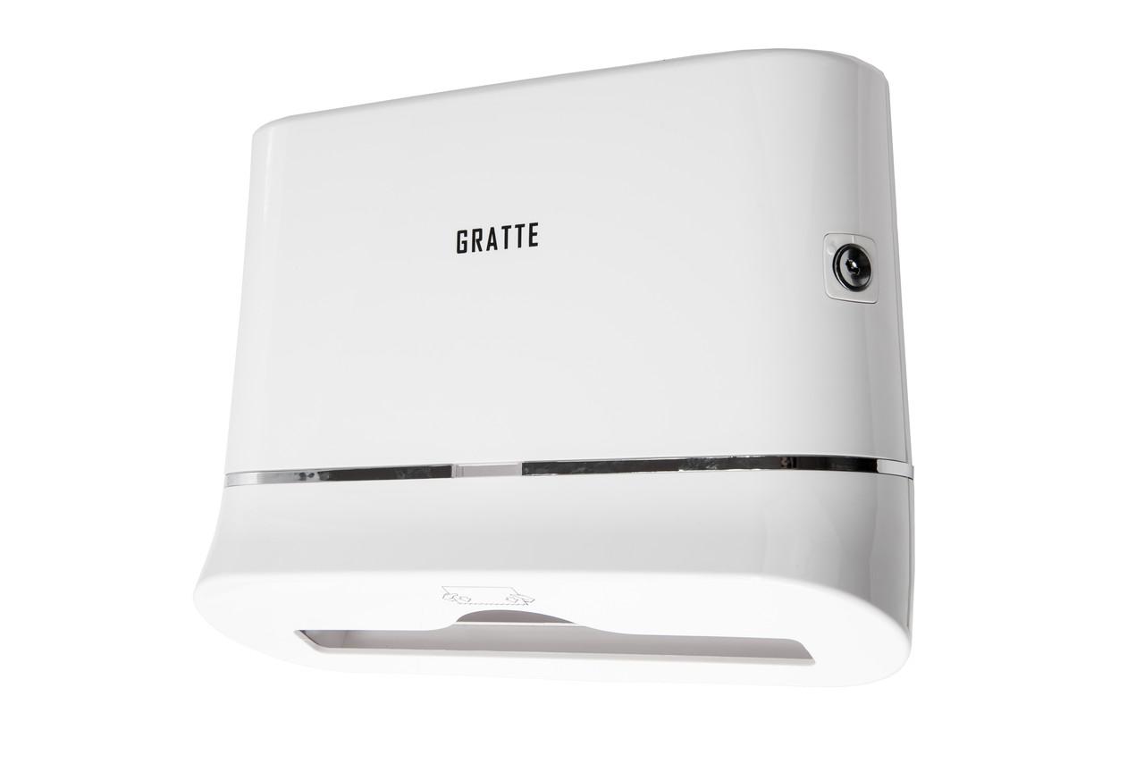 Диспенсер для бумажных полотенец GRATTE PD-560 (W)
