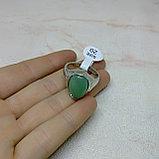 Кольцо с натуральным нефритом, фото 2