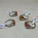 Кольцо с натуральным сердоликом, фото 2