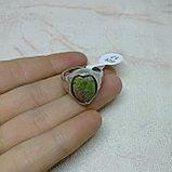 Кольцо с яшмой унакит, фото 2