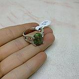 Кольцо с яшмой унакит, фото 4