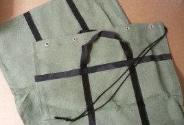 Мешок брезентовый для эвакуации документов 60*135 см (люверсы)