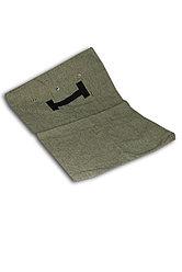 Мешок  брезентовый с люверсами размер 60*85см .