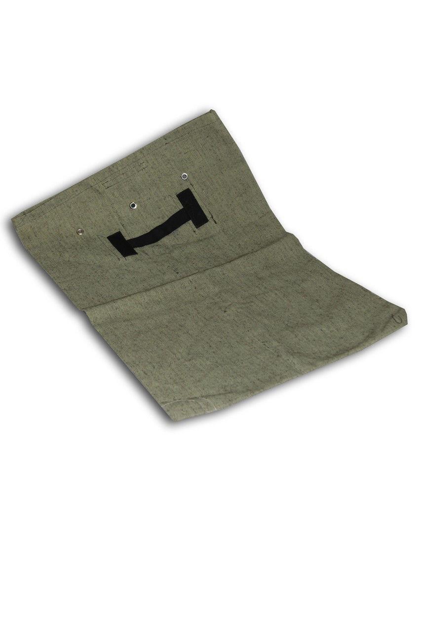 Мешок брезентовый для эвакуации документов размер 60*100 см.К-кт: мешок + опечатывающее устройство (плашка).