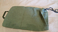 Мешок брезентовый с тесьмой, 30х40 см
