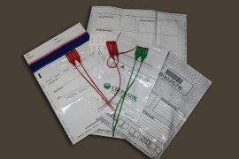 Пакет из крафт-бумаги для упаковки и хранения монет