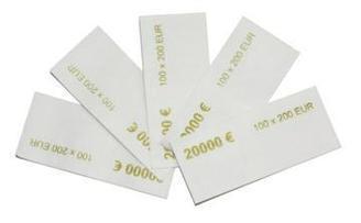 Бандерольная лента кольцевая (USD) все номиналы