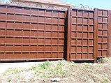 Ворота металлические, фото 2