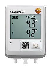 Testo Saveris 2-T2 - WiFi-логгер данных температуры c 2-мя разъёмами для внешних зондов NTC или дверных контак