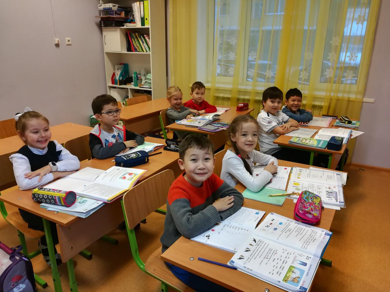Продленка для первоклассников на русском языке обучения
