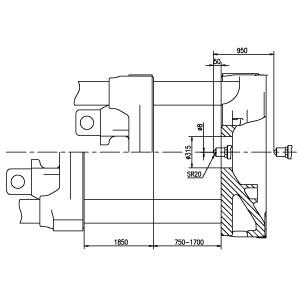 Горизонтальный термопластавтомат с сервоприводом BOLE «BL2200EKII/C28000»