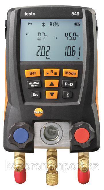 Testo 549 - Цифровой манометрический коллектор
