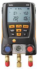 Комплект testo 550 - Цифровой манометрический коллектор