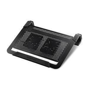 Охлаждающая подставка для ноутбука Cooler Master NotePal U2 Plus Чёрный, фото 2