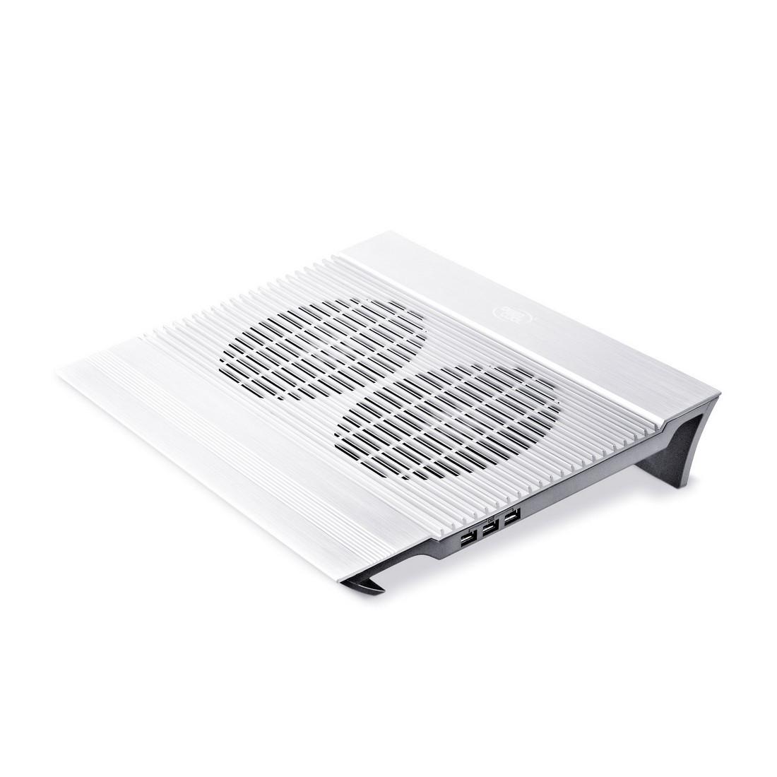 """Охлаждающая подставка для ноутбука Deepcool N8 Silver 17"""" Серебро"""