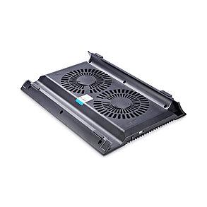 """Охлаждающая подставка для ноутбука Deepcool N8 Black 17"""" черный, фото 2"""