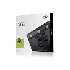 """Охлаждающая подставка для ноутбука Deepcool M3 15,6"""" черный, фото 2"""
