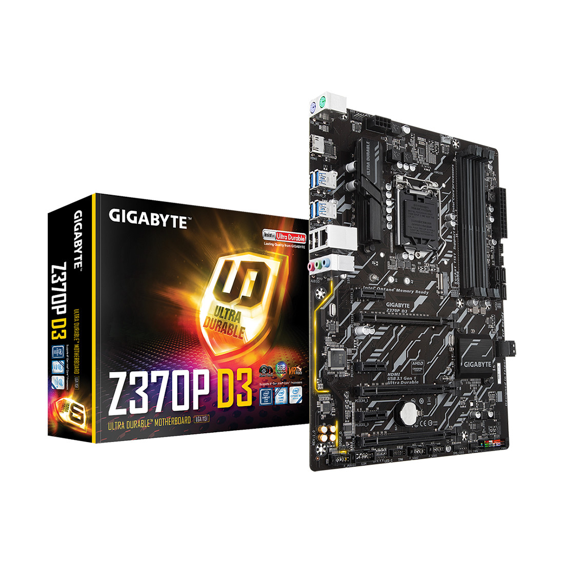 Материнская плата Gigabyte Z370P D3