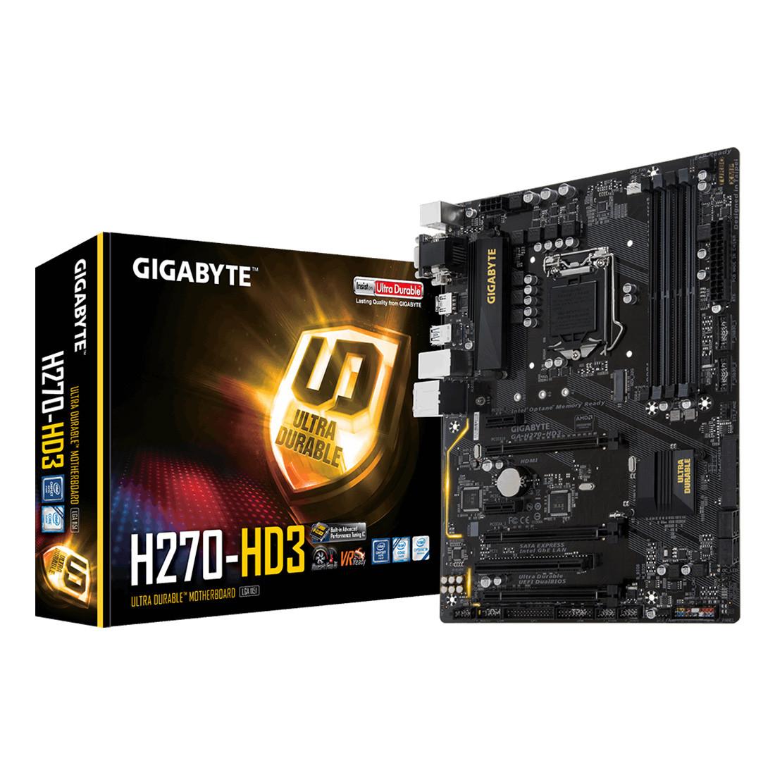 Материнская плата Gigabyte GA-H270-HD3