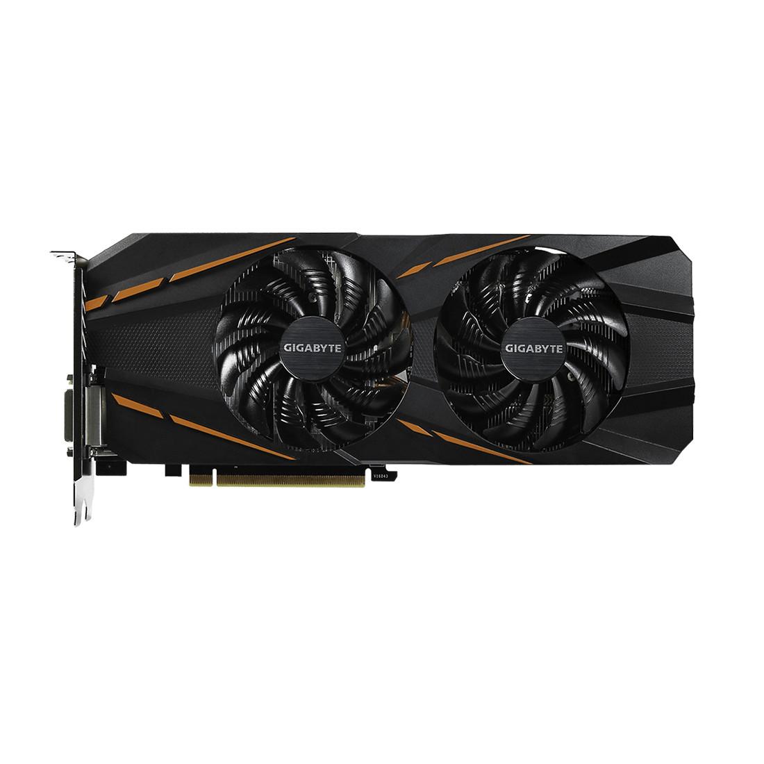 Видеокарта Gigabyte (GV-N1060G1 GAMING-6GD) GTX1060 GAMING 6G