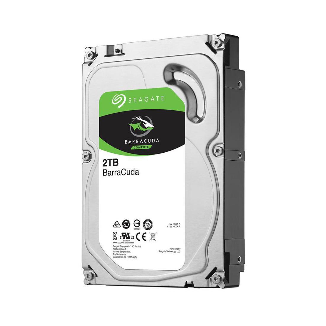 "Жесткий диск HDD 2Tb Seagate Barracuda SATA6Gb/s 7200rpm 64Mb 3,5"" ST2000DM006"