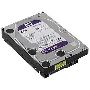 Жёсткий диск для видеонаблюдения Western Digital Purple HDD 4Tb WD40PURZ, фото 2