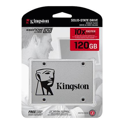 Твердотельный накопитель SSD Kingston SUV400S37/120G  (550Мб/с), фото 2