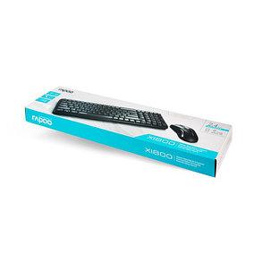 Комплект Клавиатура + Мышь Rapoo X1800, фото 2