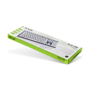 Клавиатура Delux DLK-150GW, фото 2