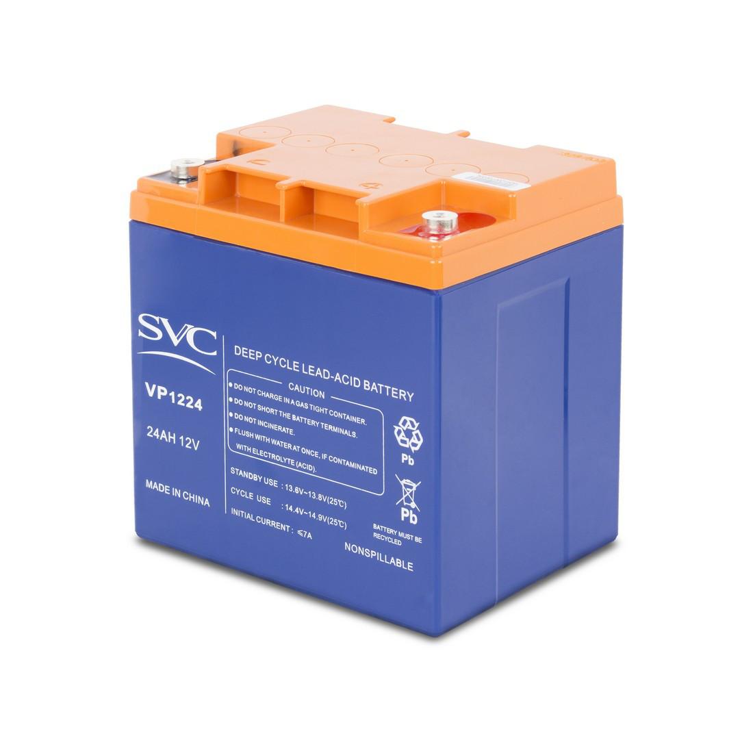 Батарея SVC 12В 24 Ач