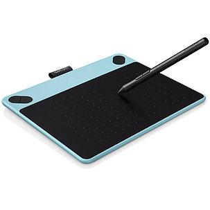 Графический планшет Wacom Intuos Draw Pen Small Blue (CTL-490DB-N) Голубой/чёрный, фото 2