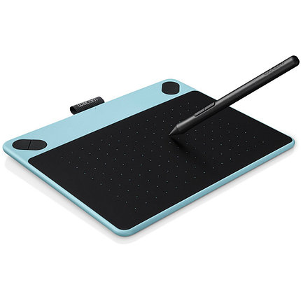 Графический планшет Wacom Intuos Comic Small Blue (CTH-490CB-N) Голубой/чёрный, фото 2