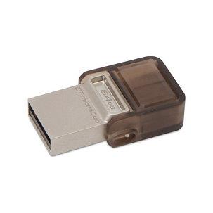 USB-накопитель Kingston DataTraveler® MicroDuo (DTDUO) 64GB, фото 2