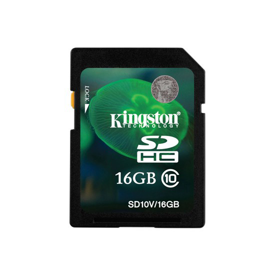 Карта памяти Kingston SD10VG2/16GB Class 10 16GB