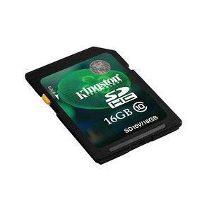 Карта памяти Kingston SD10VG2/16GB Class 10 16GB, фото 2