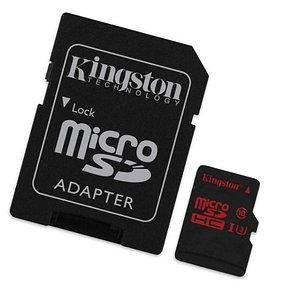 Карта памяти Kingston SDCA3/64GB UHS class 3 (U3) 4K2K 64GB + адаптер для SD, фото 2