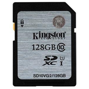 Карта памяти Kingston SD10VG2/128GB Class 10 128GB, фото 2