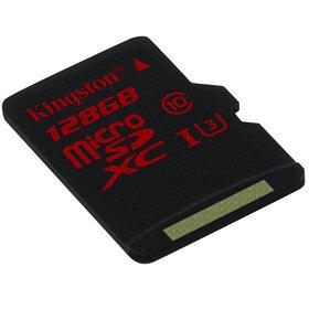 Карта памяти Kingston SDCA3/128GB UHS class 3 (U3) 4K2K 128GB + адаптер для SD