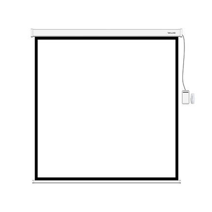 Экран (с пультом Д/У) для проекторов Deluxe DLS-E203xW, фото 2