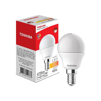 Светодиодная лампа Toshiba Golf 5,5W (40W) 2700K 470lm E14 Dim Тёплый, фото 2