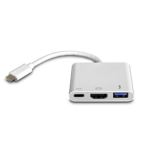 Многопортовый цифровой AV-адаптер USB-C 3.1 SHIP US217-B, фото 2