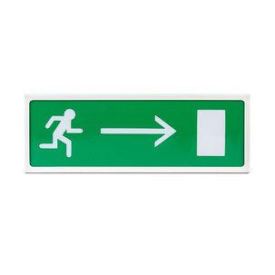 Оповещатель световой Сибирский Арсенал Призма 102 вар 02, Направление к выходу вправо, фото 2