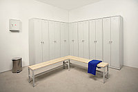 Шкаф металлический для спортзала, фото 1