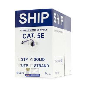 Кабель сетевой SHIP D108 Cat.5e UTP LSZH, фото 2