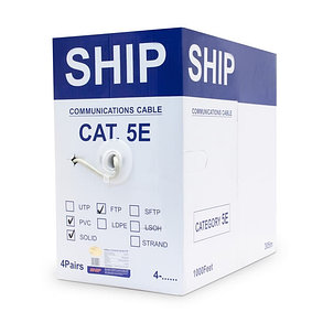 Кабель сетевой SHIP D145-P Cat.5e FTP PVC, фото 2