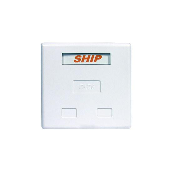Розетка Настенная 2 Модуля SHIP A184-2