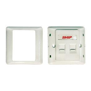Лицевая панель Под 2 модуля SHIP A160-2, фото 2