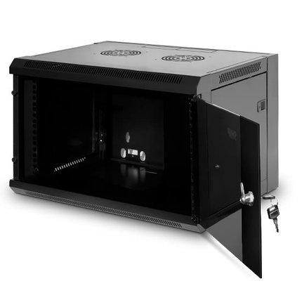 Шкаф настенный SHIP 5406.01.100 6U 570*450*380 мм, фото 2