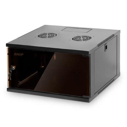 Шкаф настенный SHIP 602.5409.03.100 9U 540*450*445 мм, фото 2